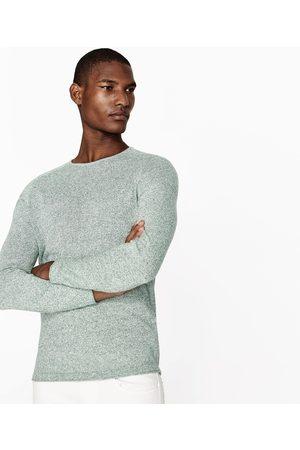 Homem Camisolas - Zara CAMISOLA MALHA TORÇAL - Disponível em mais cores