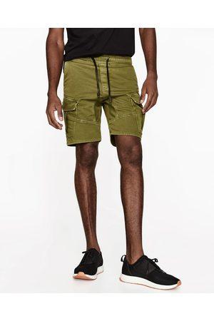Homem Bermudas - Zara BERMUDAS CARGO - Disponível em mais cores